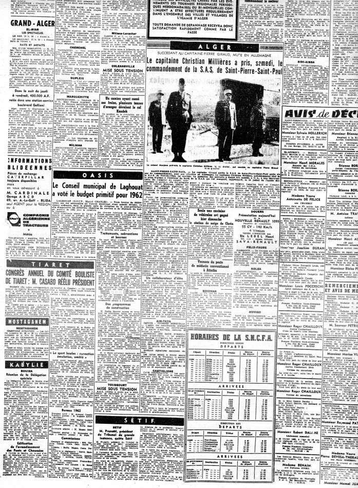 ALGERIE PRESSE FEVRIER 1962 (suite et fin) 441