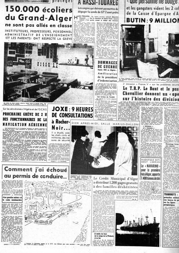 ALGERIE PRESSE JANVIER 1962 -2 ème et 3 ème parties 520