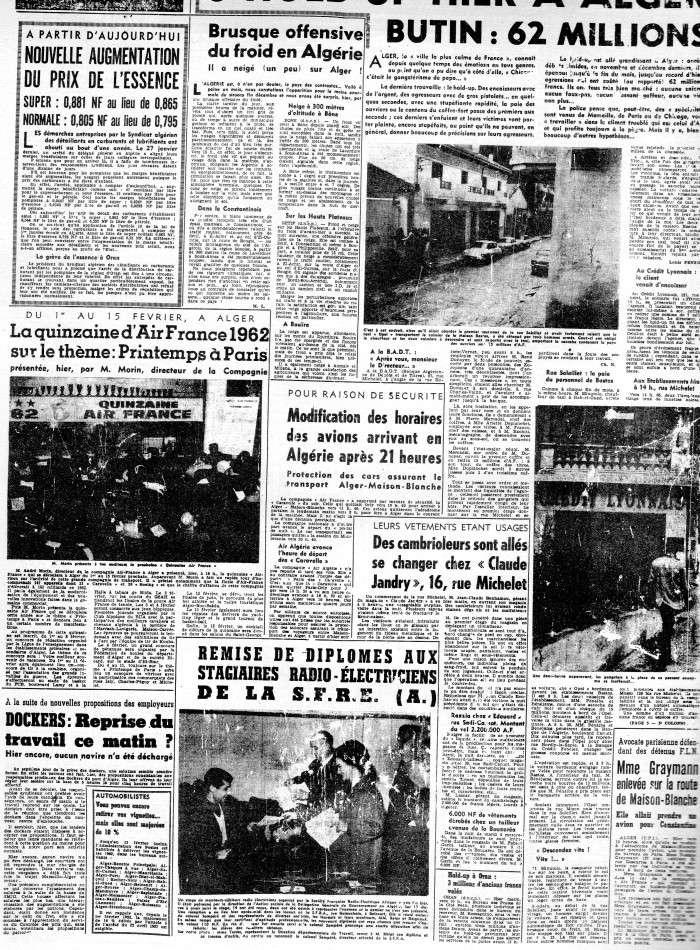 ALGERIE PRESSE FEVRIER 1962 531