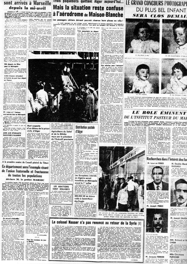 ALGERIE PRESSE JUIN 1962  547