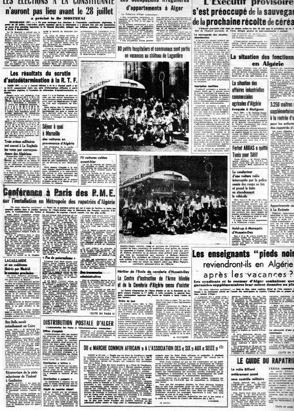 ALGERIE PRESSE JUIN 1962  548