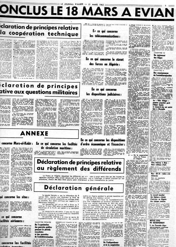 ALGERIE PRESSE MARS 1962 616