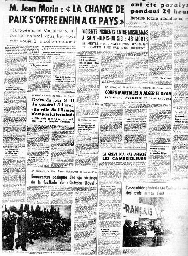 ALGERIE PRESSE MARS 1962 811