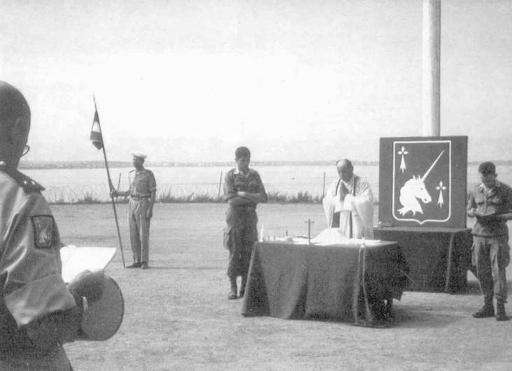 L'armée française quitte l'Algérie, été 1964 An196417