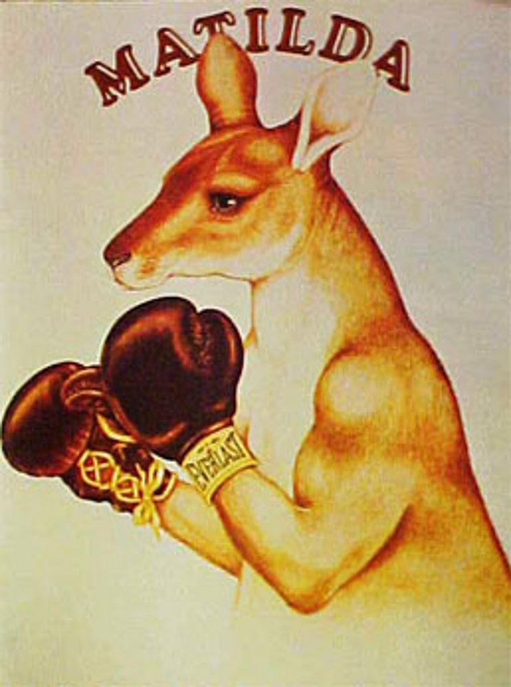 Circus Boxing Kangaroo Matild10