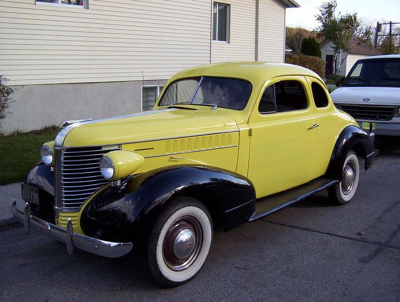 """1938 Pontiac - Coupé 2 portes - """"Buziness Coupe"""" T2ec1611"""