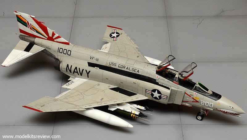 F-4B Phantom II  [ Academy 1/48° ] (Montage en cours) Academ10