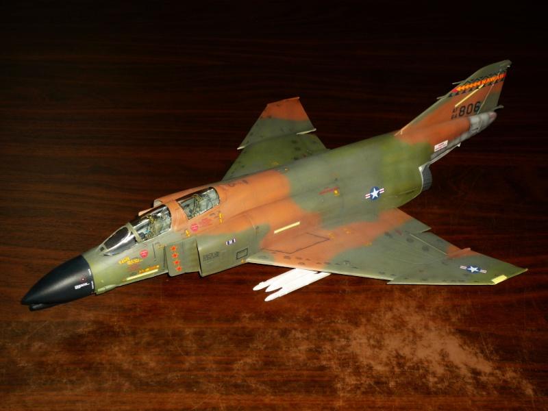 F-4 C/D Phantom II  [ REVELL ]  (Montage et Peinture terminés). P1080614