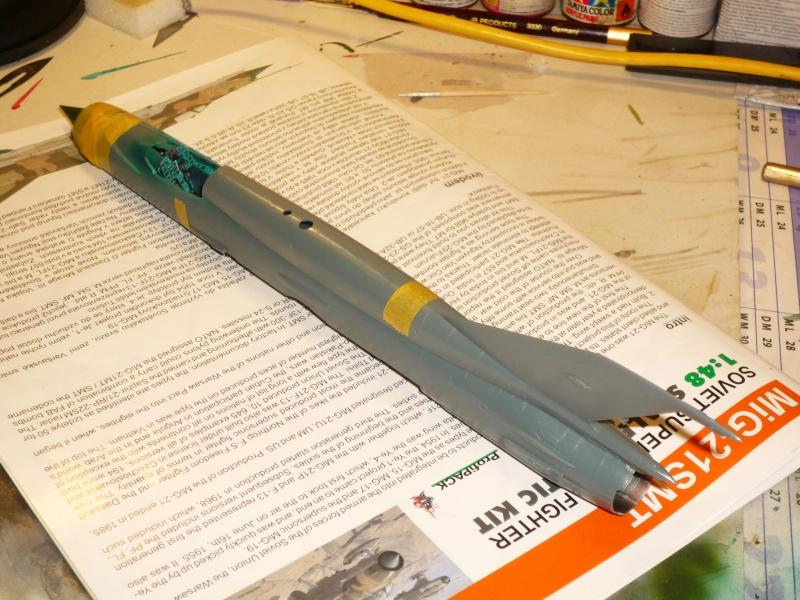 MiG-21 SMT Fishbed-K  [ EDUARD ] (Montage en cours) P1080811