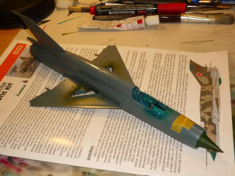 MiG-21 SMT Fishbed-K  [ EDUARD ] (Montage en cours) - Page 2 P1080812