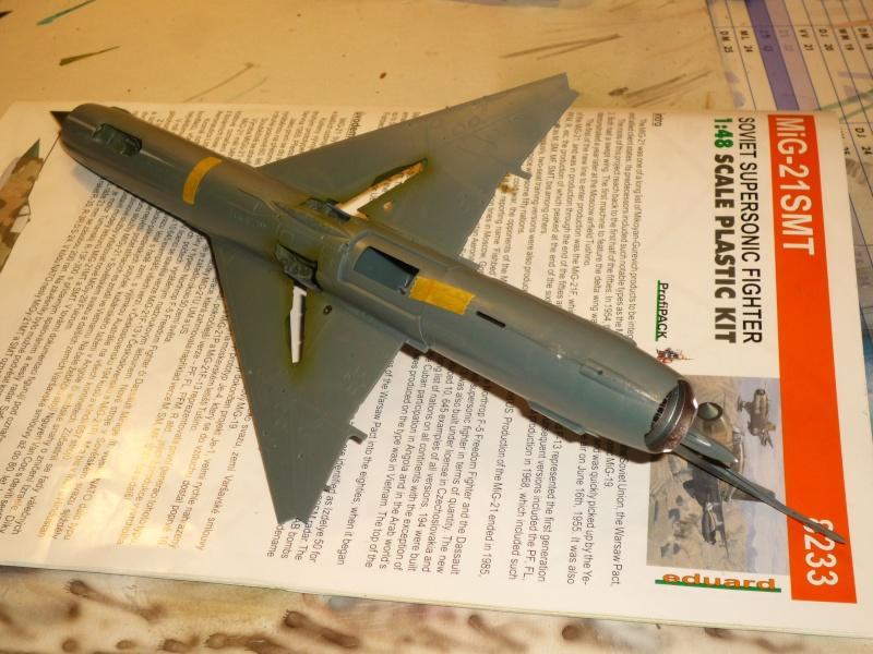 MiG-21 SMT Fishbed-K  [ EDUARD ] (Montage en cours) - Page 2 P1080814