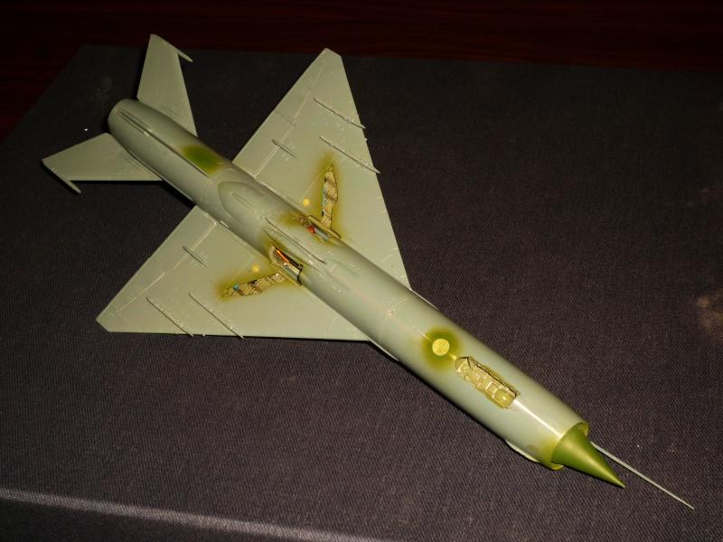 MiG-21 SMT Fishbed-K  [ EDUARD ] (Montage en cours) - Page 2 P1080821