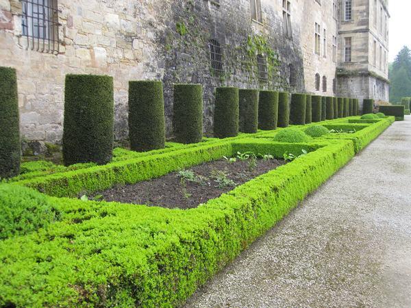 Jardins et Château de Hautefort Cl1110