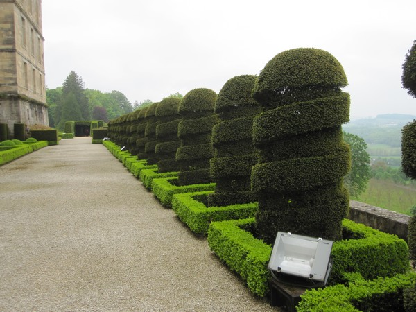 Jardins et Château de Hautefort Cl1210