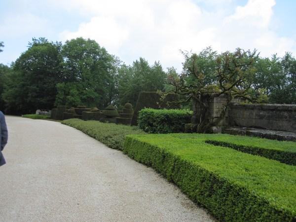 Jardins et Château de Hautefort Cl1910