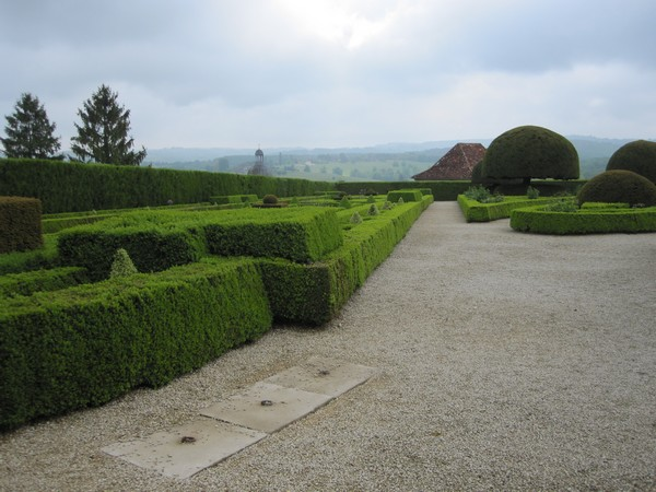 Jardins et Château de Hautefort Cl610