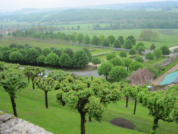 Jardins et Château de Hautefort Cl810