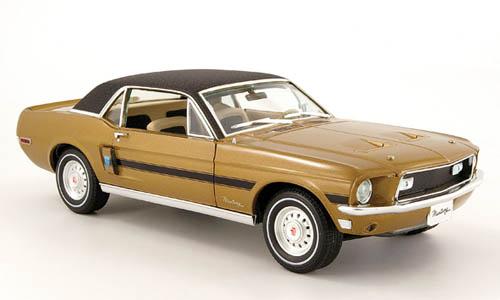 Mustangs 1968 à l'échelle 1:18  15821210