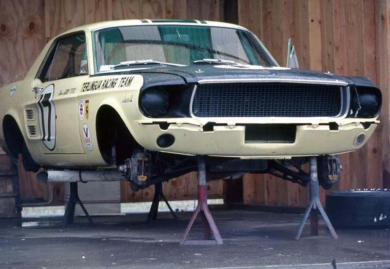 L'équipe de course Terlingua de Shelby-American en 1967 1967br10