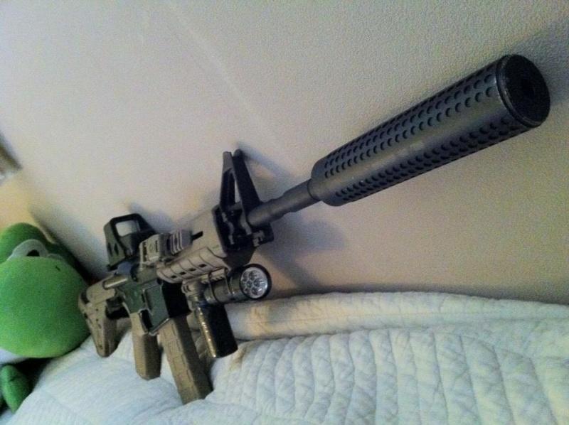 King Arms Colt M4 MOE (Dark Earth) custom  13929610