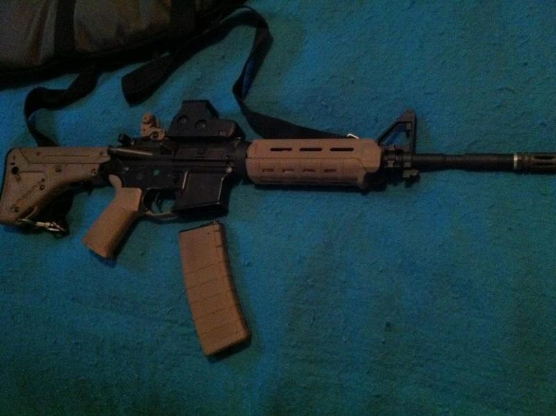 King Arms Colt M4 MOE (Dark Earth) custom  43128310