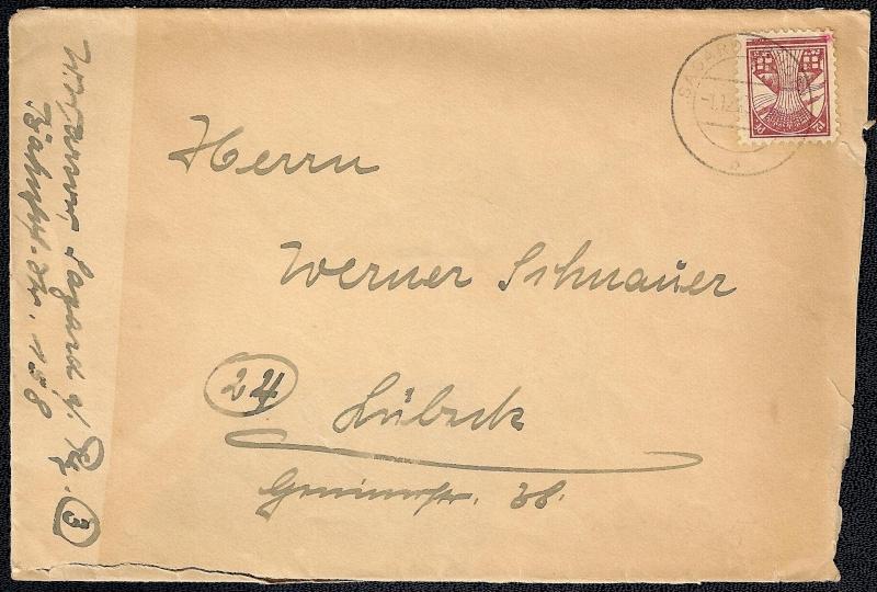 Deutsches Reich - Belege aus Dezember 1945  114