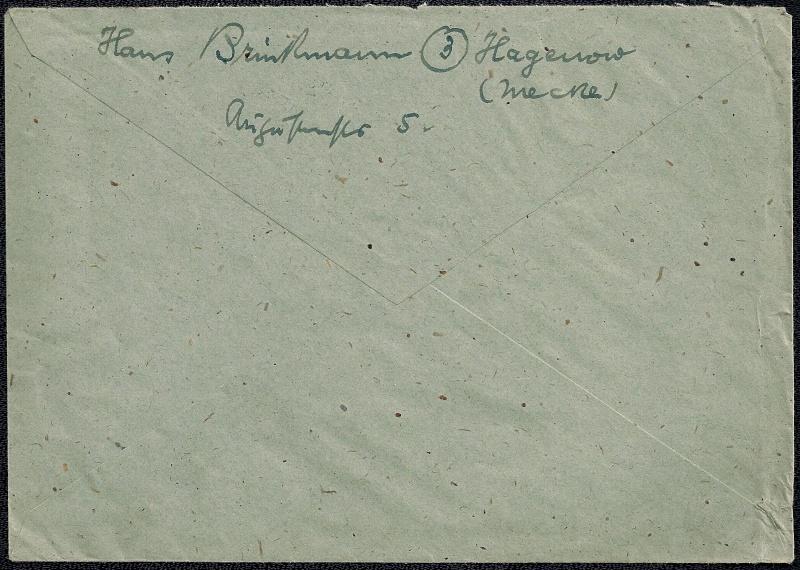 Deutsches Reich - Belege aus Dezember 1945  1945-117