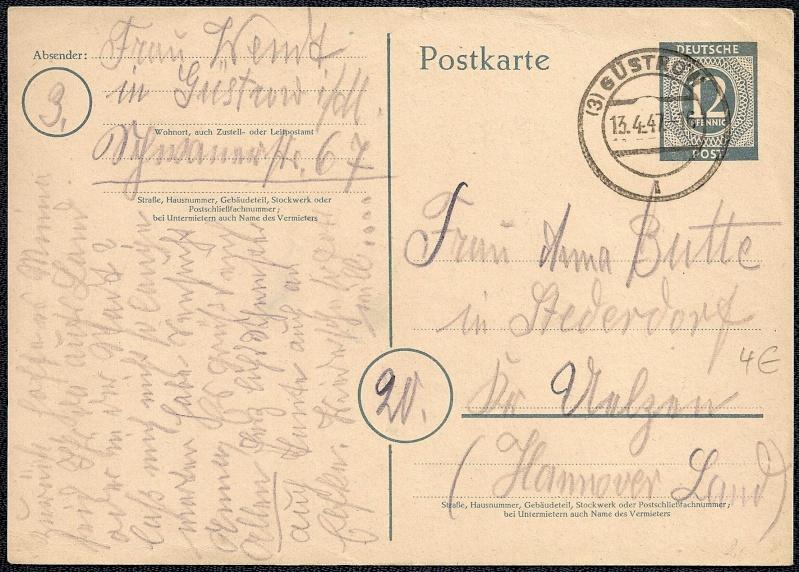 Ortsstempel aus Mecklenburg-Vorpommern 1947-010