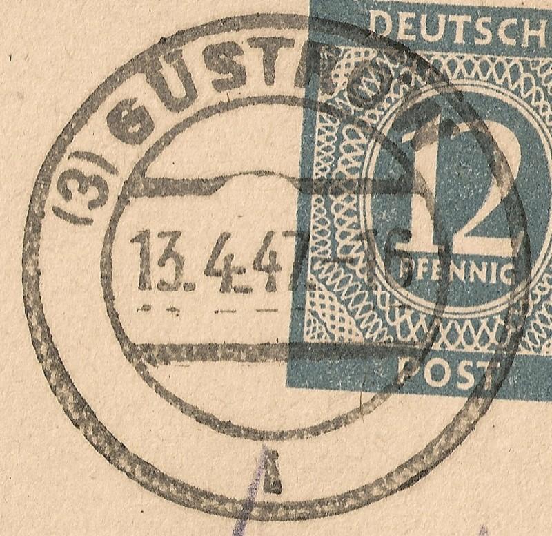 Ortsstempel aus Mecklenburg-Vorpommern 1947-012