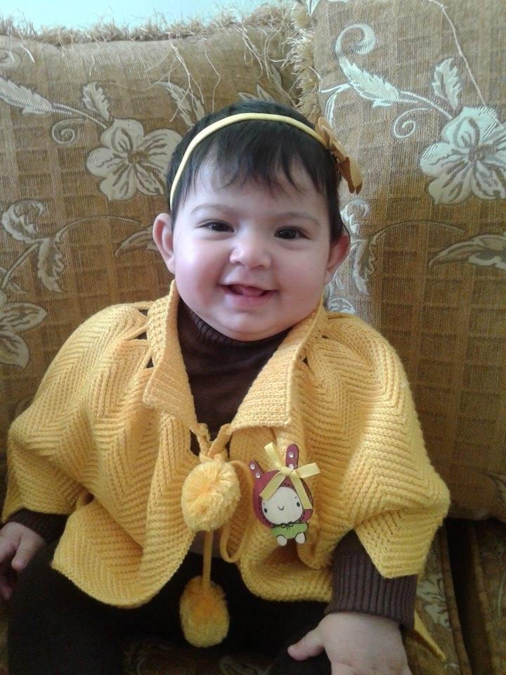 الطفلة سارة علاء ثوابتة - الصورة الثانية في مسابقة اجمل طفل  13951410