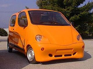 Автомобиль на сжатом воздухе Prius210