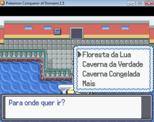 Chegando na Área secreta [Pokémon Conqueror of Domains] Tuto110