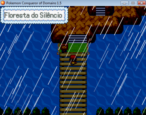 Chegando na Área secreta [Pokémon Conqueror of Domains] Tuto410