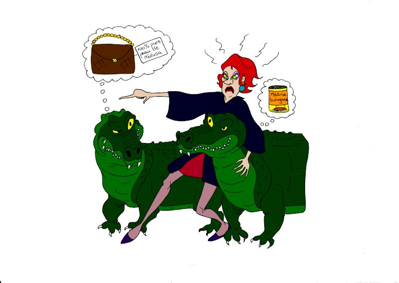 Mesclun de dessins Reptil10