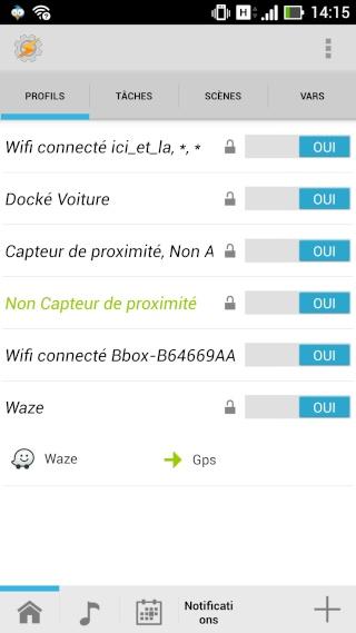 [APP] Tasker : Personnaliser et automatiser des tâches sous Android [Trial/Payant] - Page 2 Screen13