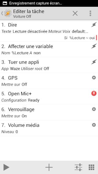 [APP] Tasker : Personnaliser et automatiser des tâches sous Android [Trial/Payant] - Page 2 Screen30