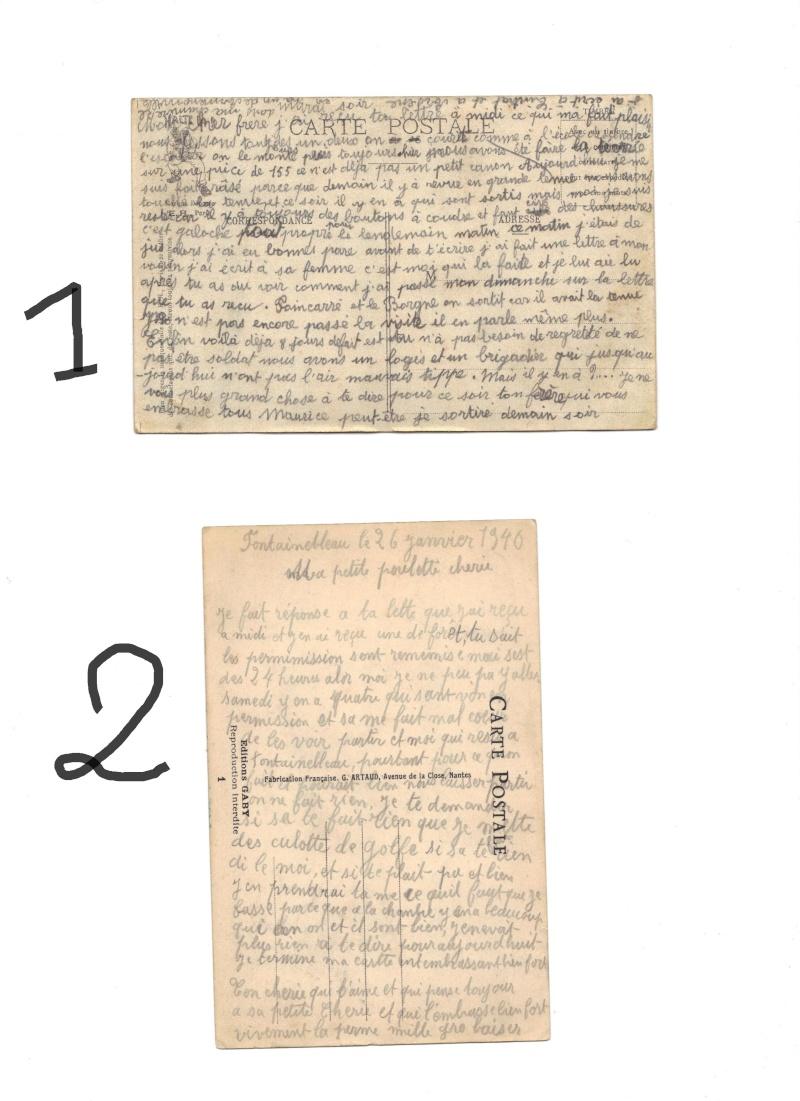 Lettres de soldats Cpa_1911