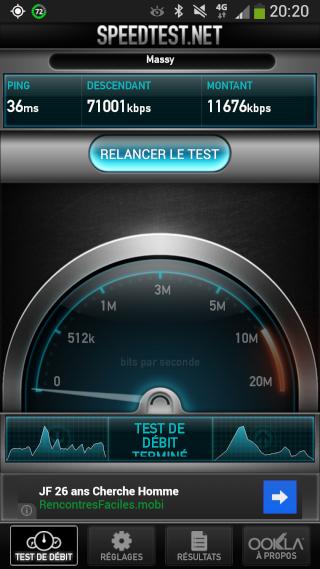 [INFO] Bouygues a active son reseau 4G avant le 1er octobre :d 2013-010
