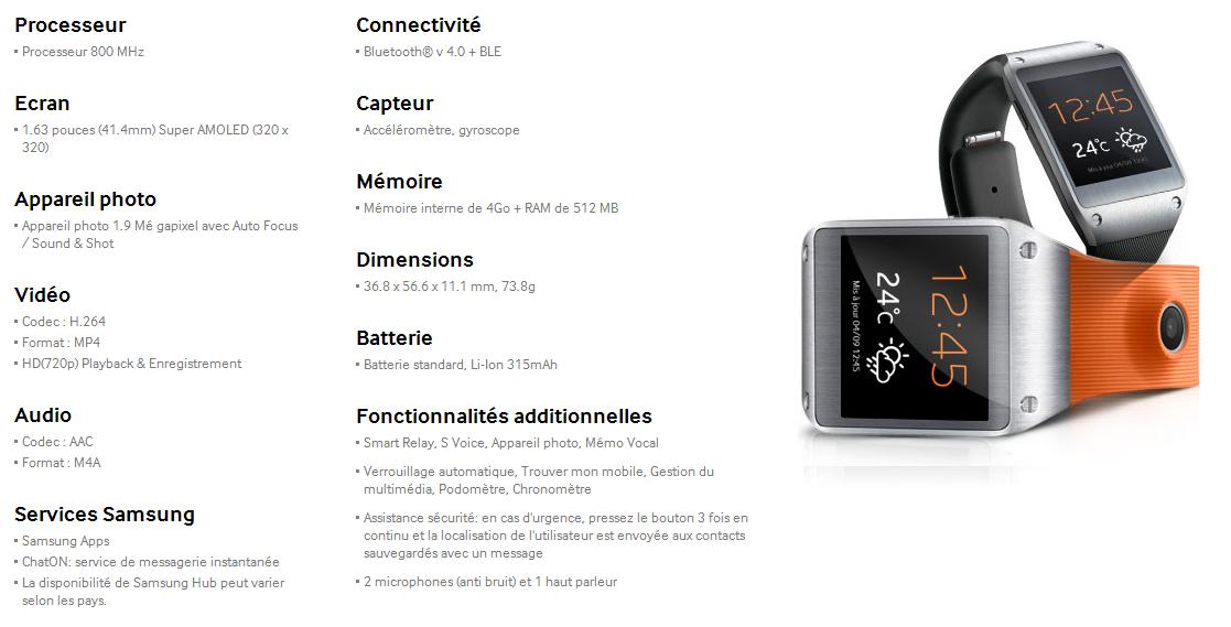 [PRESENTATION] Samsung Galaxy Gear Captur13