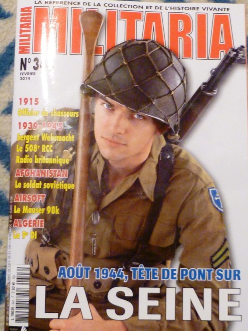 L'ASBL ARDENNES 505PIR dans le magazine Militaria février 2014 P1050310