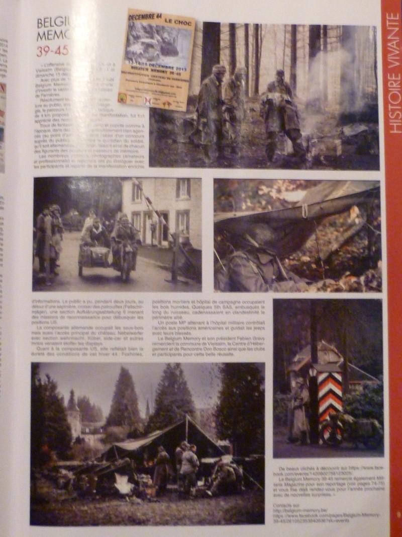 L'ASBL ARDENNES 505PIR dans le magazine Militaria février 2014 P1050311