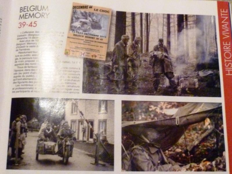 L'ASBL ARDENNES 505PIR dans le magazine Militaria février 2014 P1050312