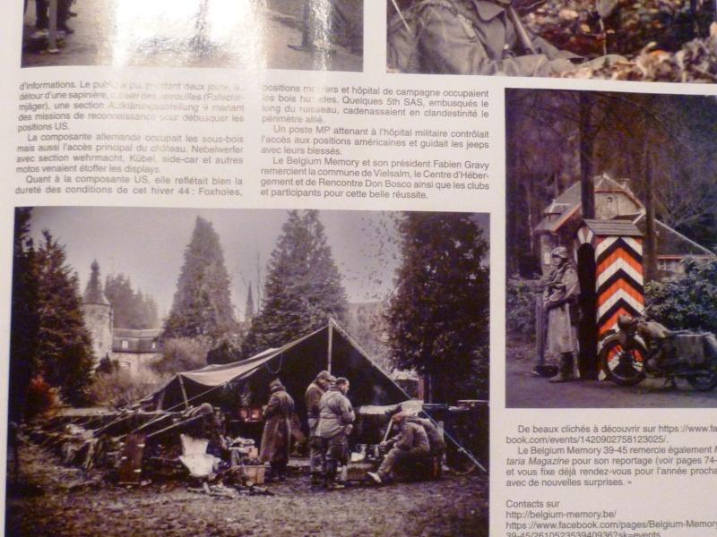 L'ASBL ARDENNES 505PIR dans le magazine Militaria février 2014 P1050313