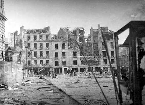 Rennes, 1944 B815_315