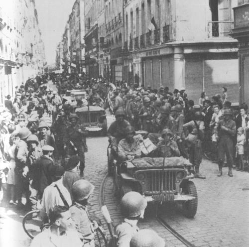 Rennes, 1944 Libera10