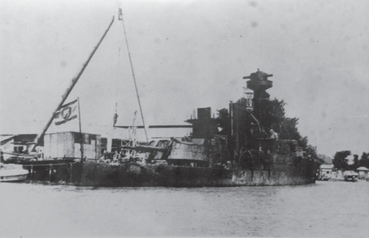 17/18 JANVIER 1941 Koh-Chang; une victoire navale française  4_dhom10