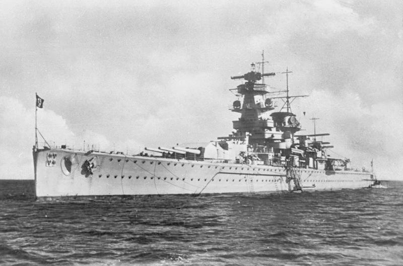 Cuirassés allemands Admira19