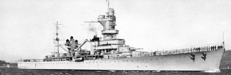 Croiseurs français  Algeri11