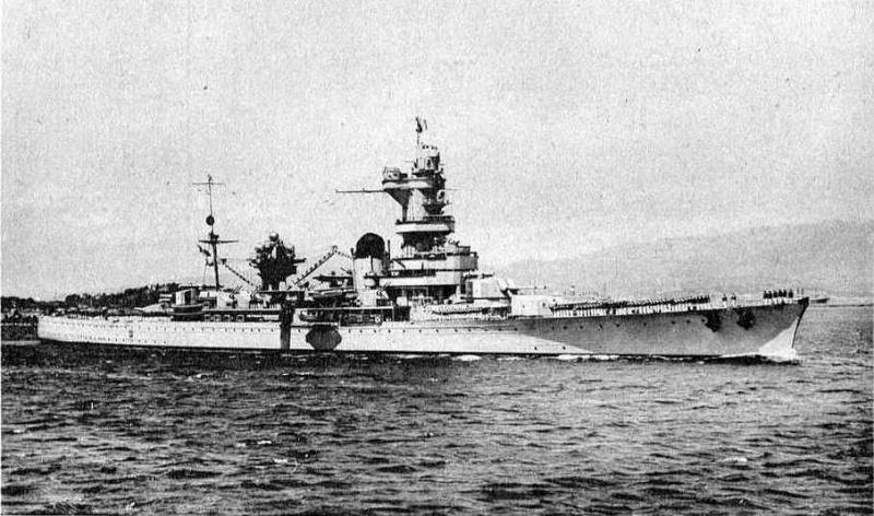 Croiseurs français  Algeri12