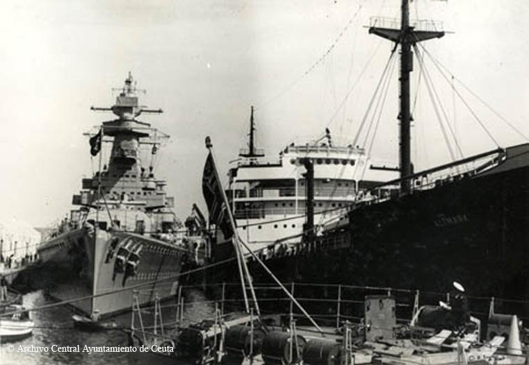 17 décembre 1939, sabordage de l' Admiral Graf Spee Altmar10